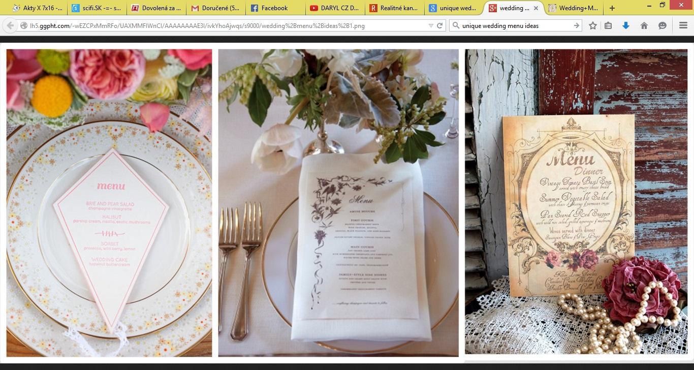 Svadobné menu nápady - Obrázok č. 7
