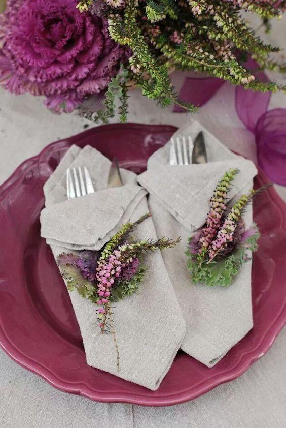 Nazdobenie stola alebo umenie prestrieť stôl do krásy. - Obrázok č. 5