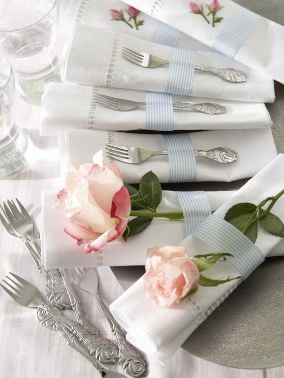 Nazdobenie stola alebo umenie prestrieť stôl do krásy. - Obrázok č. 30