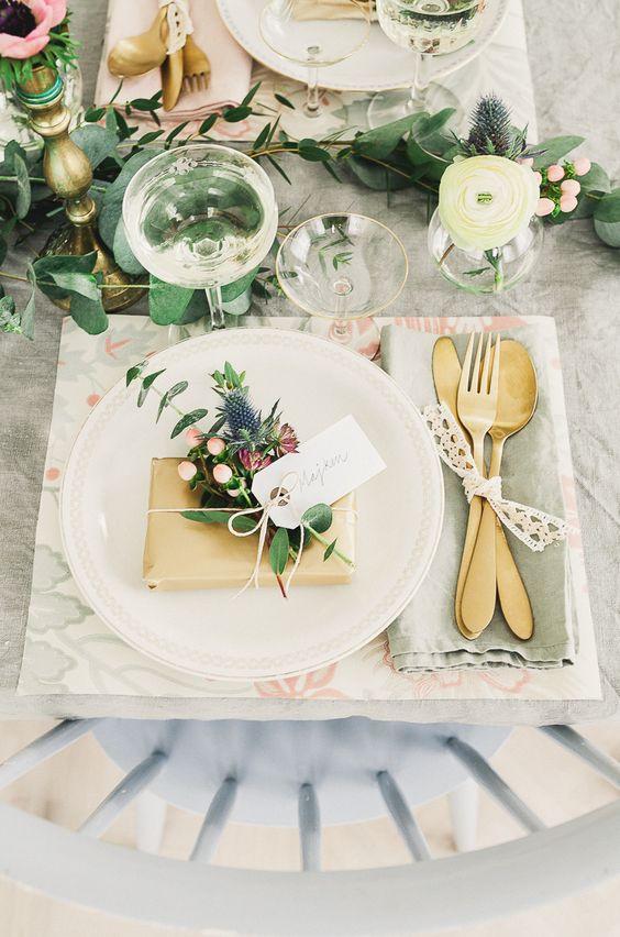 Nazdobenie stola alebo umenie prestrieť stôl do krásy. - Obrázok č. 31
