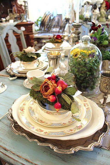 Nazdobenie stola alebo umenie prestrieť stôl do krásy. - Obrázok č. 53