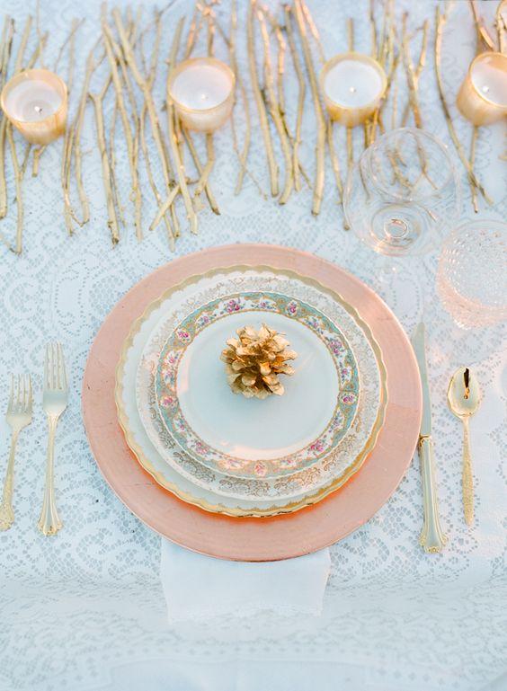 Nazdobenie stola alebo umenie prestrieť stôl do krásy. - Obrázok č. 56
