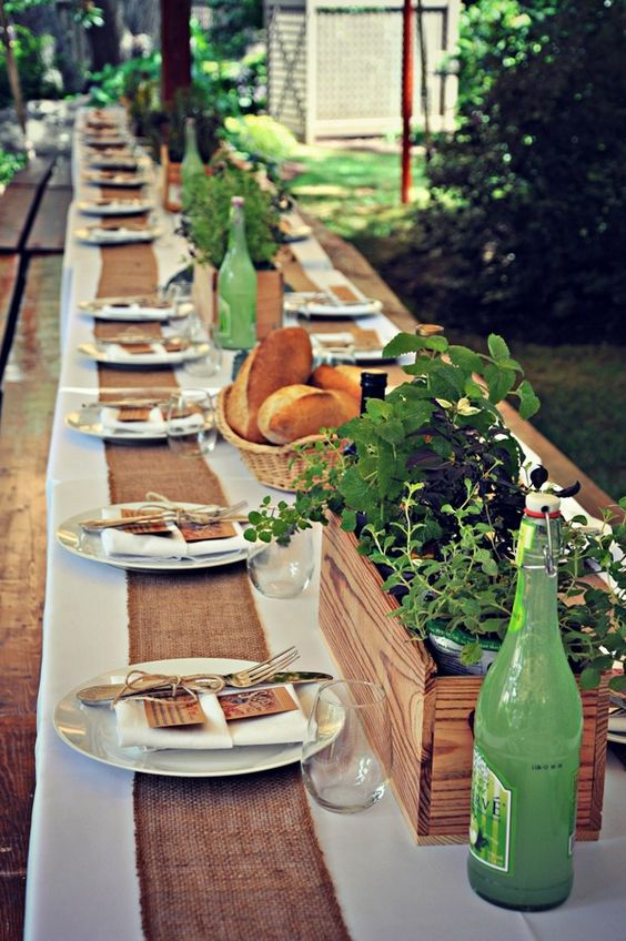 Nazdobenie stola alebo umenie prestrieť stôl do krásy. - Obrázok č. 57