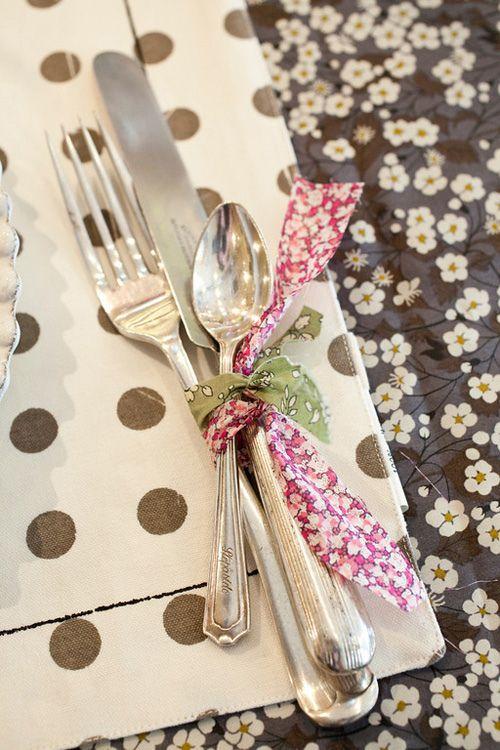 Nazdobenie stola alebo umenie prestrieť stôl do krásy. - Obrázok č. 62