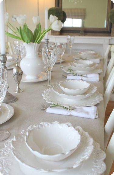 Nazdobenie stola alebo umenie prestrieť stôl do krásy. - Obrázok č. 63