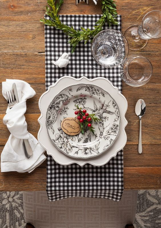 Nazdobenie stola alebo umenie prestrieť stôl do krásy. - Obrázok č. 72