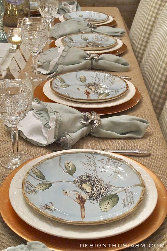 Nazdobenie stola alebo umenie prestrieť stôl do krásy. - Obrázok č. 85