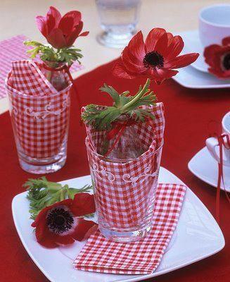 Nazdobenie stola alebo umenie prestrieť stôl do krásy. - Obrázok č. 89