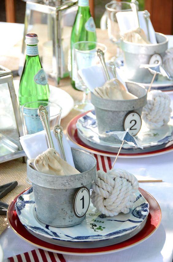 Nazdobenie stola alebo umenie prestrieť stôl do krásy. - Obrázok č. 93