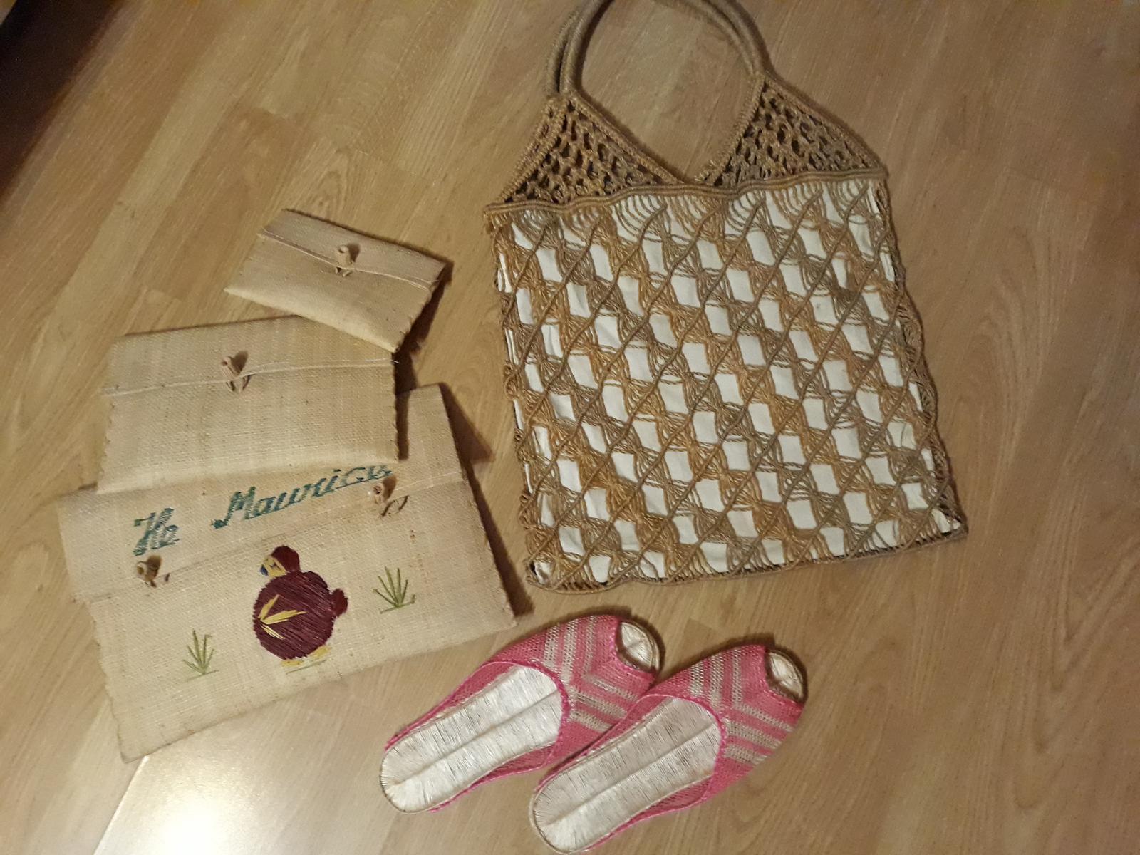 Mix na dekoráciu- bambus.tašky+špagátová - Obrázok č. 1