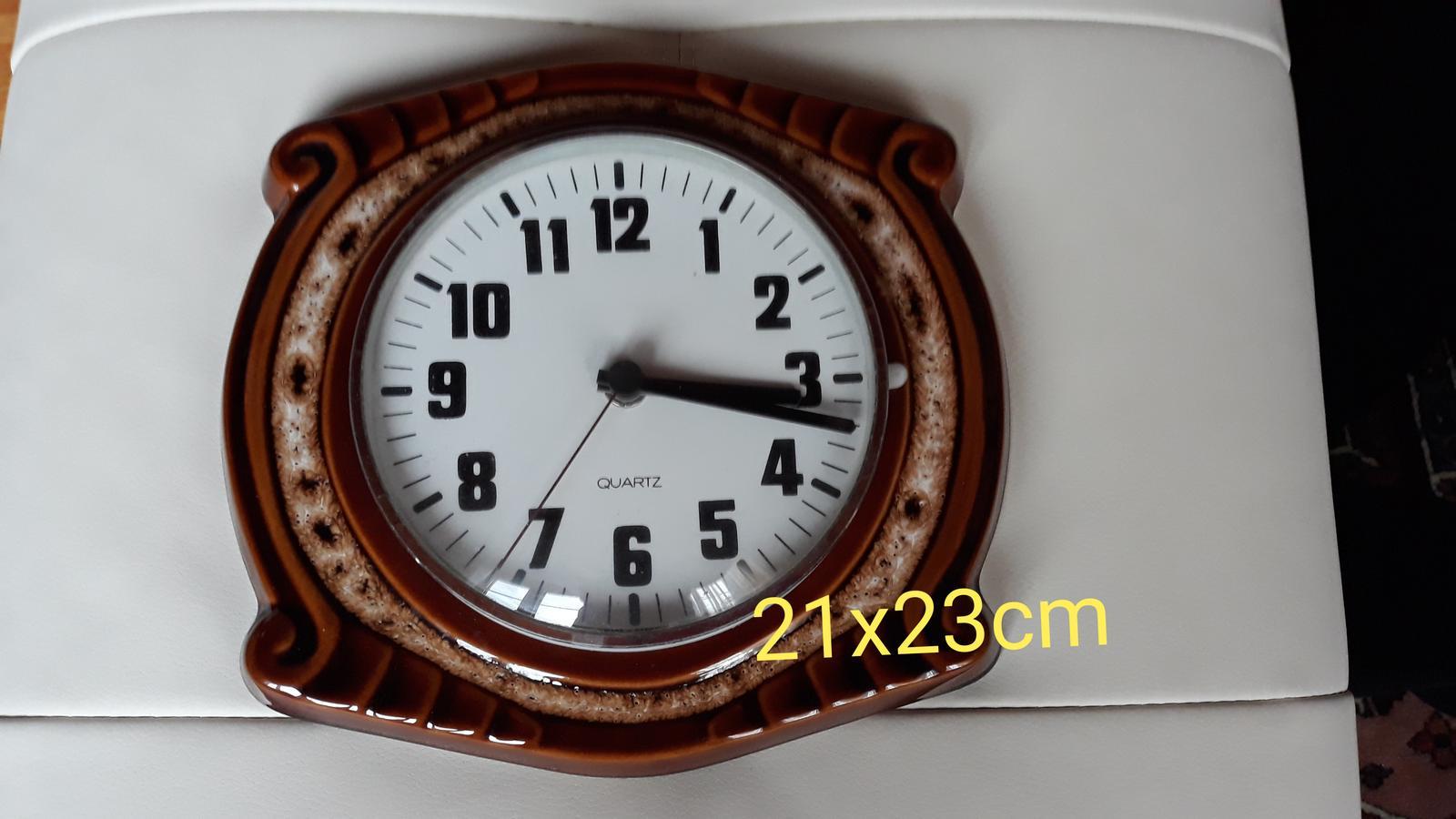 Keramické hodiny - Obrázok č. 1