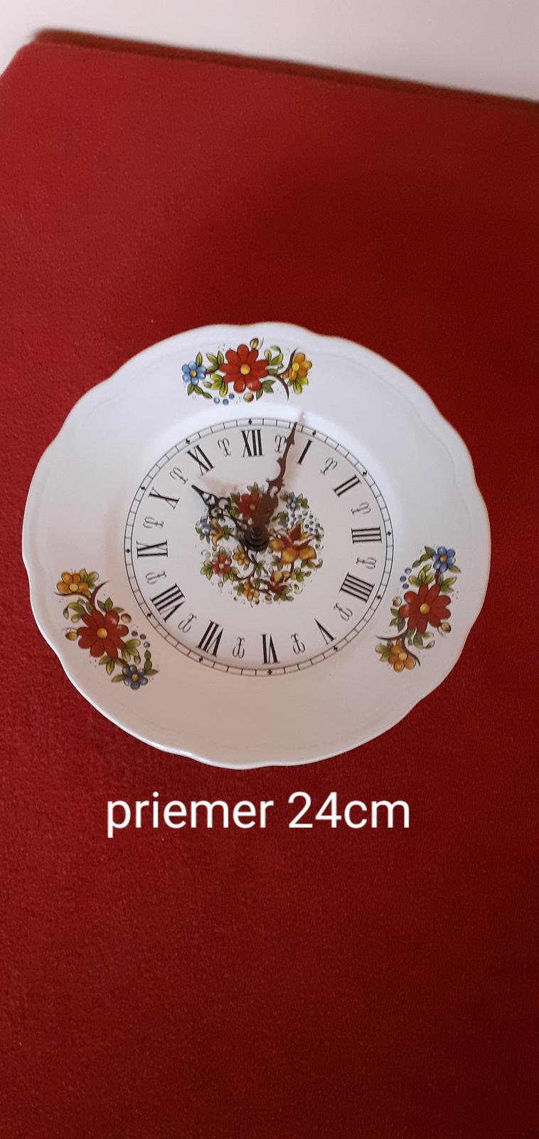 Maľované  hodiny - Obrázok č. 1