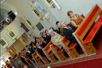 vyzdoba v kostole