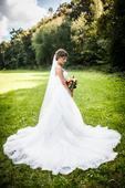 Svadobné šaty Dabra by Enzoani blue, 36