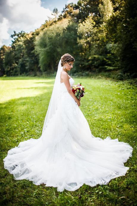 Svadobné šaty Dabra by Enzoani blue - Obrázok č. 1