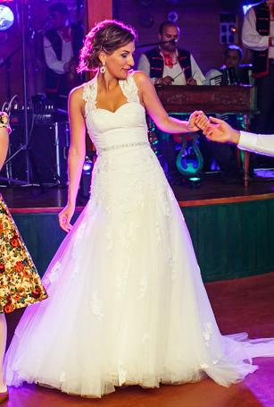 Svadobné šaty Dabra by Enzoani blue - Obrázok č. 3