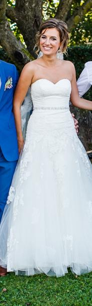 Svadobné šaty Dabra by Enzoani blue - Obrázok č. 4