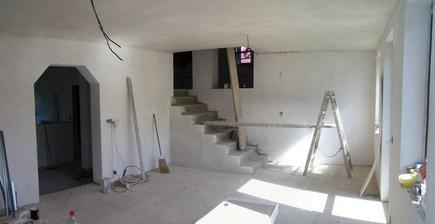 Zalité podlahy a hotové stropy