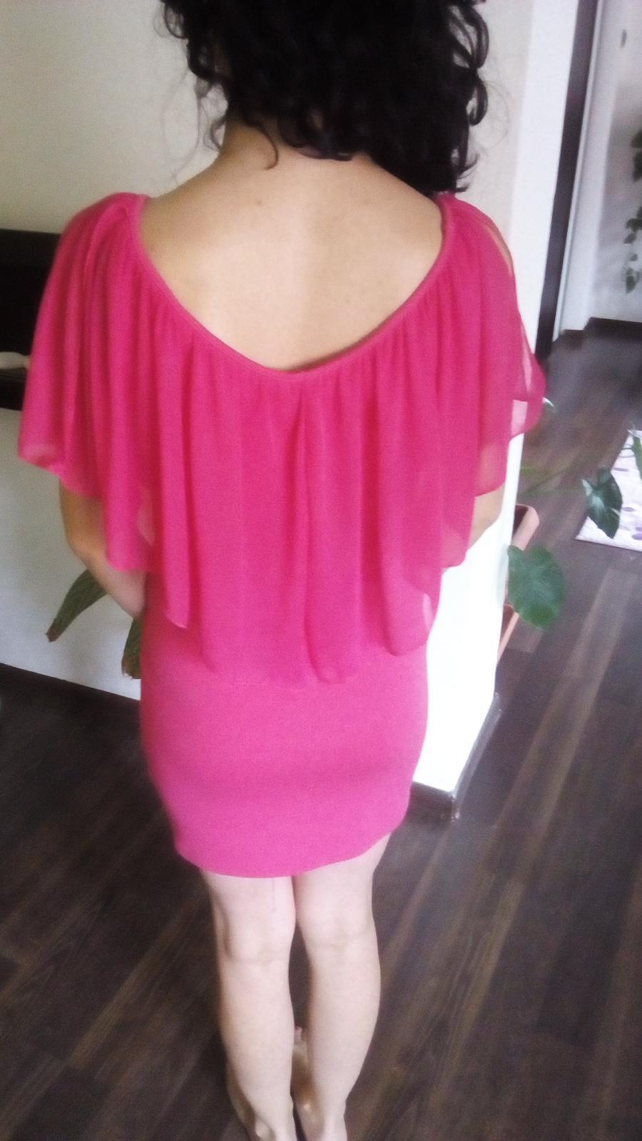 Cyklamenové  šaty Bonprix - Obrázok č. 3