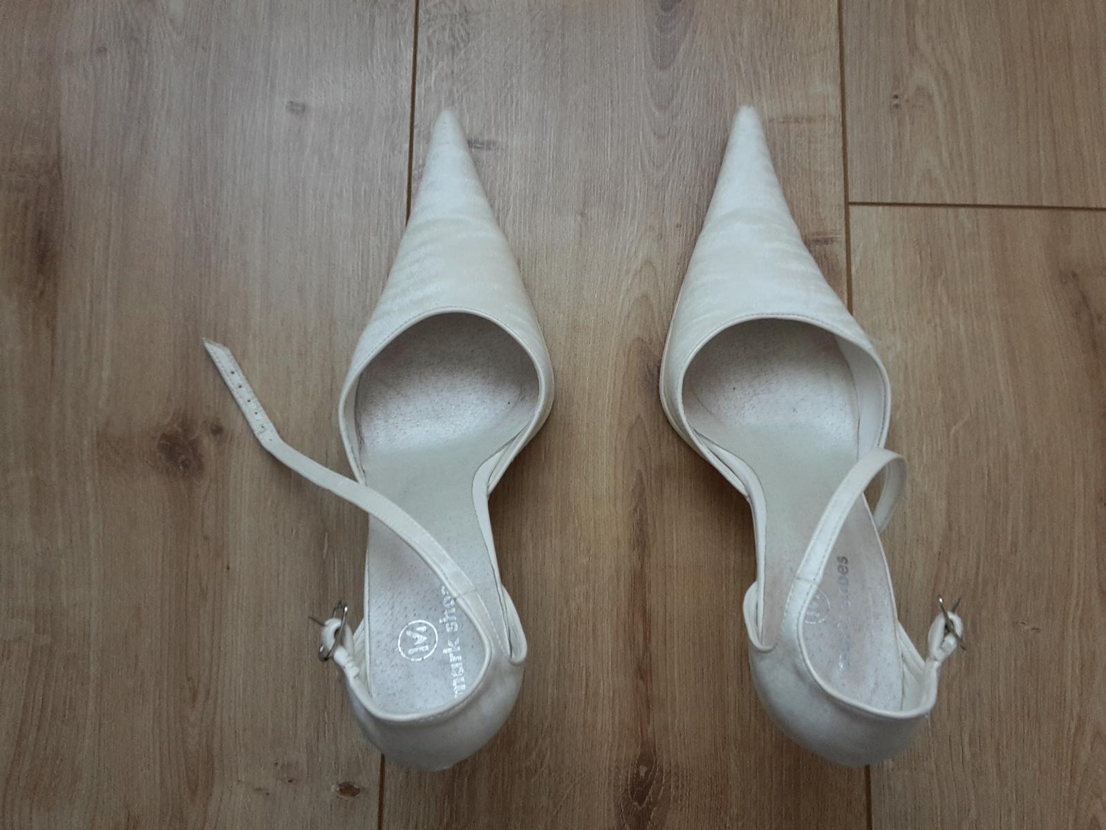 svadobné topánky Mark shoes - Obrázok č. 1