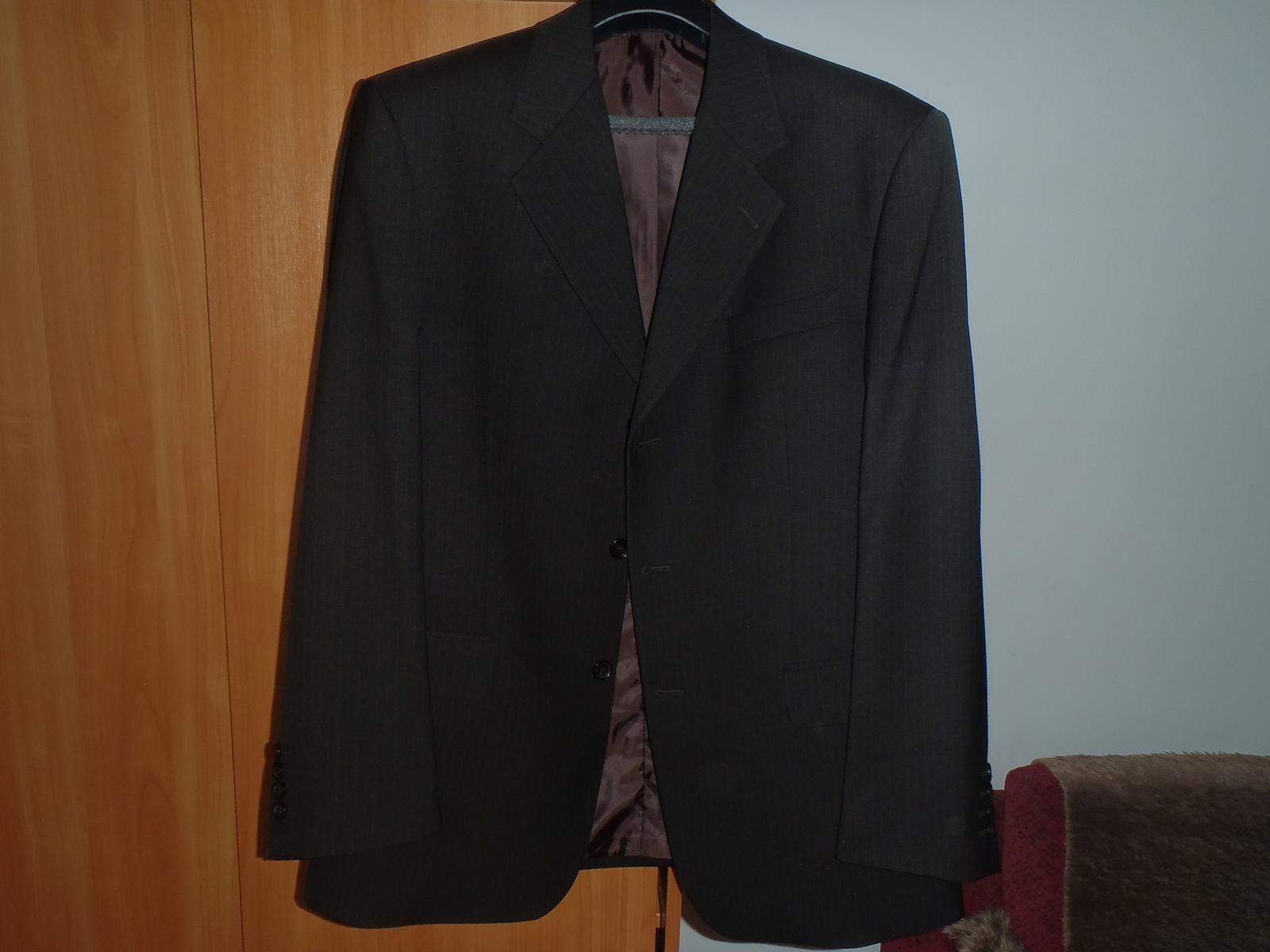 Hnedý oblek - Obrázok č. 2