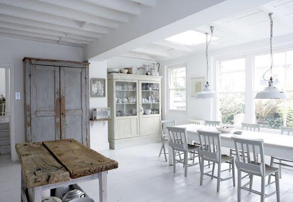 Drevo a biela v kuchyni - Obrázok č. 43