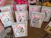 Svadobné čísla stolov,