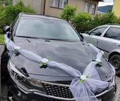 Výzdoba svadobných áut,