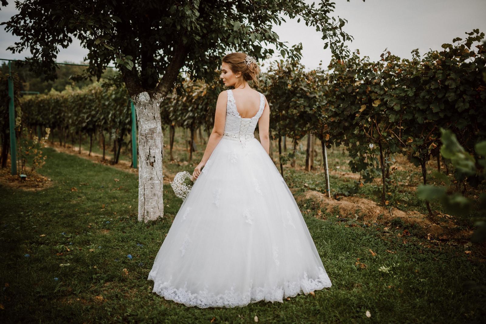 Svadobné šaty pre princeznú - Obrázok č. 4