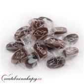 Mini svatební čokoládky - jen 3,90 Kč/ks,