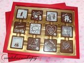 Čokoládová bonboniéra I LOVE YOU,