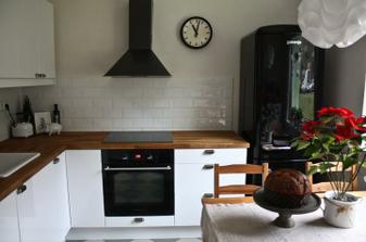 Naše nová a zároveň vánoční kuchyně ..
