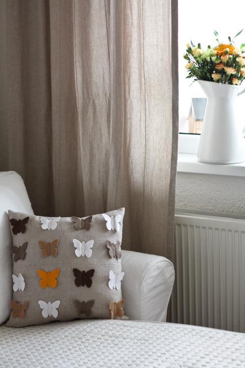 Hnízdo - DIY - Volné pondělky jsou ideální na výrobu povlaků na polštáře : )