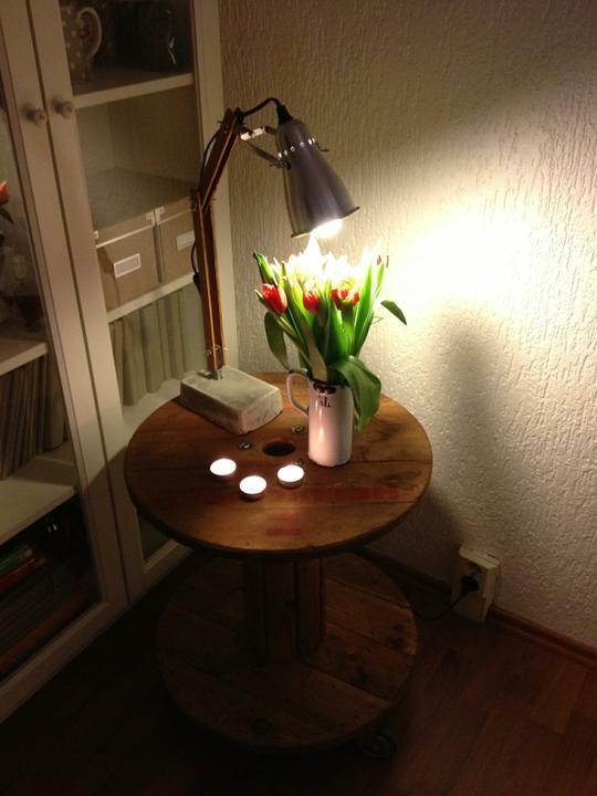 Hnízdo - DIY lampička (handmade)