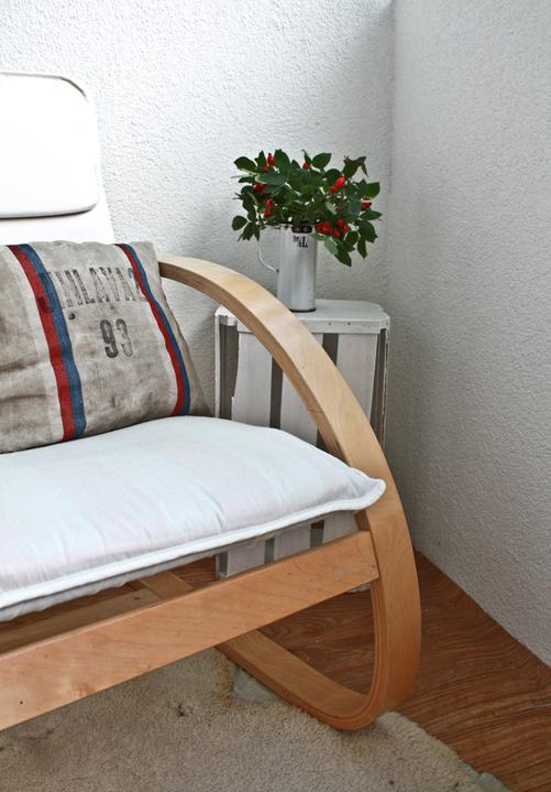 Hnízdo - Terasa jak hrom.. panelákový balkon