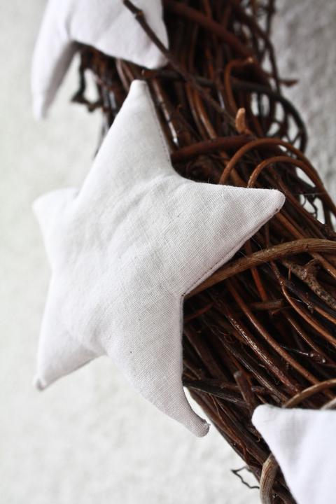Hnízdo - Adventní věnec .. na co svíčky ..