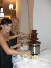 cokoladove fontane jsem neodolavali