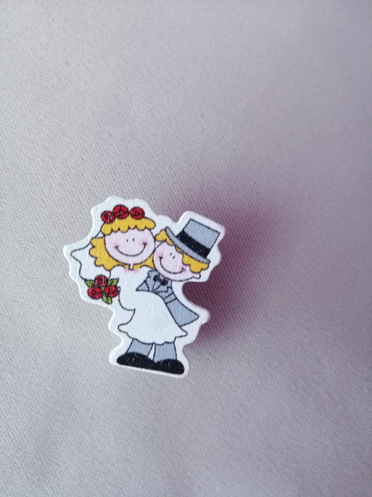 Štipce - novomanželia - Obrázok č. 1