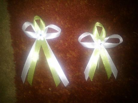 Pierka bielo-zelené - Obrázok č. 1