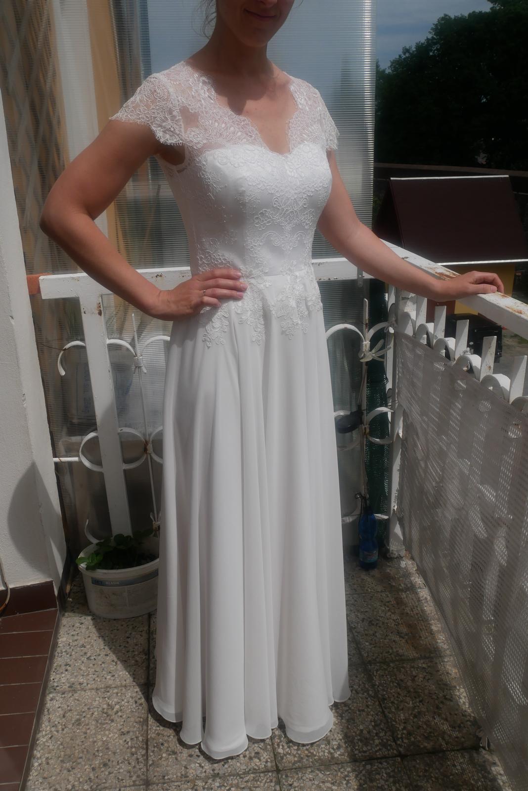 Nové svatební šaty - kvalitní krajka, boho - Obrázek č. 1