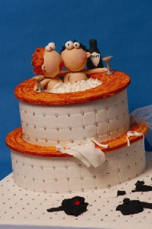K+P  7.7.2007 - ÚŽASNÁ torta, len zohnať šikovnú cukrárku - asi ťažko :o(