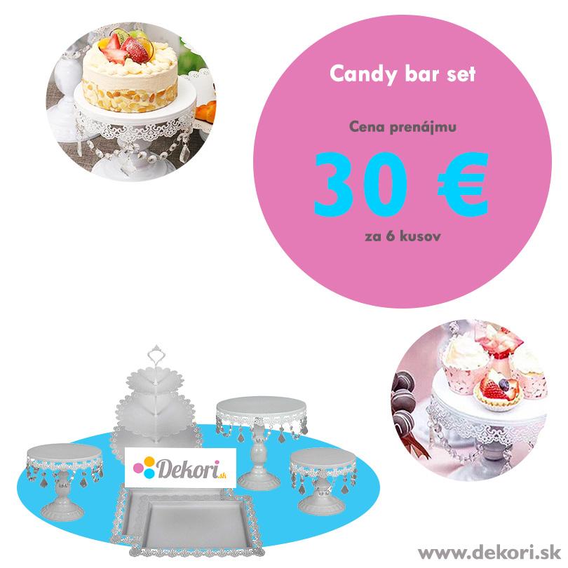 Candy bar set 6 ks - Obrázok č. 1