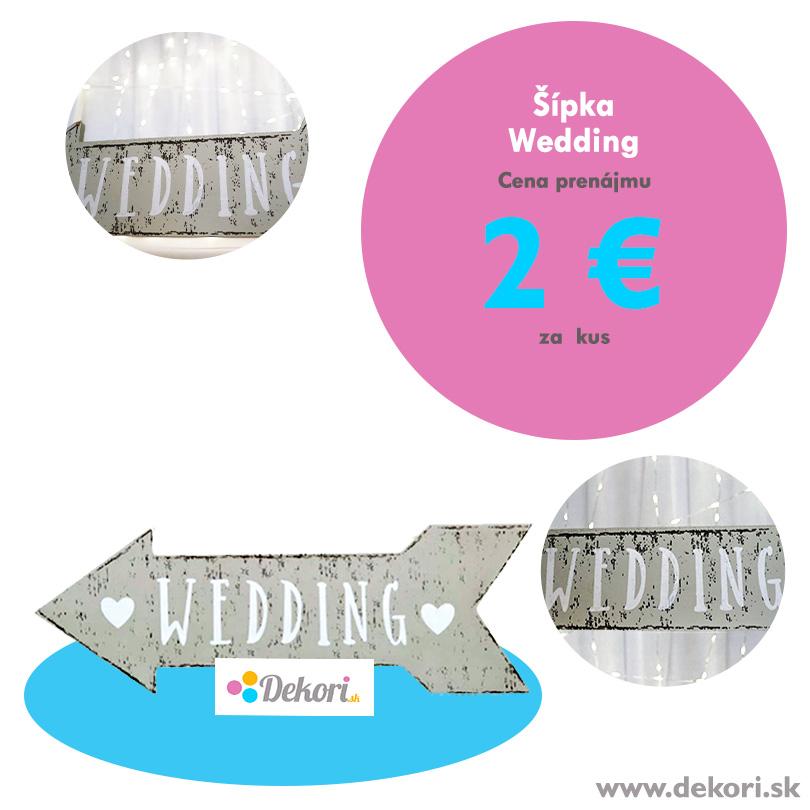 Šípka Wedding - Obrázok č. 1