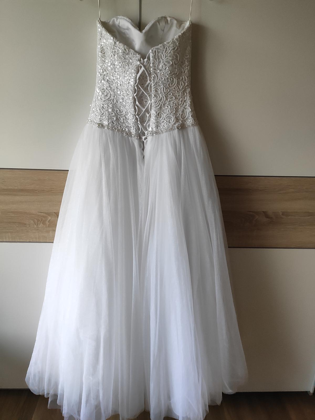 Svatební šaty salon Madora - nepoužité - Obrázek č. 1