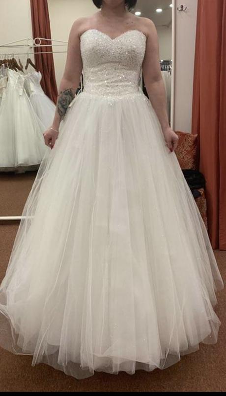 třpytivé svatebni šaty - Obrázek č. 1