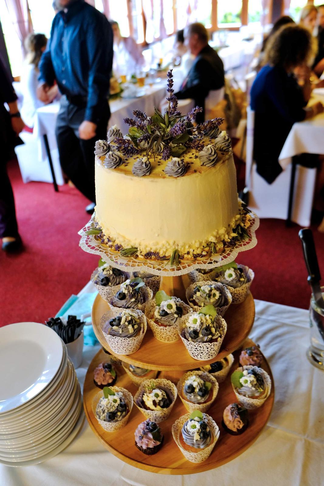 podnos na cupcake dort - Obrázek č. 1