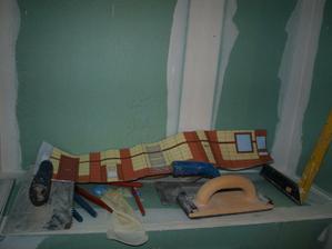 Toto byl skutečný 3D návh koupelny, než ho pánové rozlepili:)