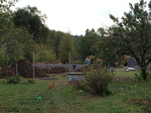 Stavíme s Rýmařovem - Stavební dozor 2 - sousedovic slepice