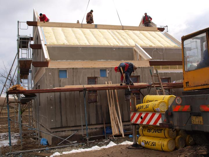 Stavba - 1. týden - Střecha, to je věda:)