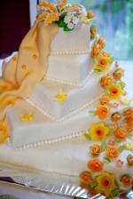 naša úžasna torta - presne podľa zadania ;-)